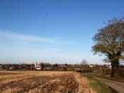 Little Waldingfield across the fields