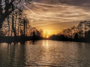 Sunset at great Livermere