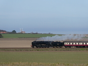 Steam train at Weybourne