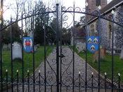 A path beyond the gate.