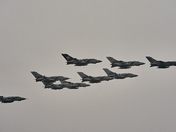 Farewell Tornado Fly Past