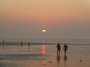 Saunton Sands Beach Sunset