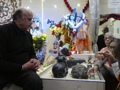 Celebrations of Shivratri in VHP Hindu Temple Ilford