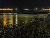 cromer pier after dark