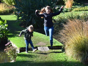 Fun at Beth Chatto's Garden