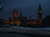 Darkness in London.