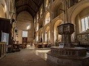 Binham Priory Interior