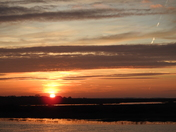 Sunset over Blakeney