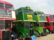 Classic London Buses display and Open Day at Barking Bus and River Road Garages