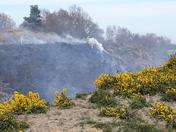 Heath Fire on North Norfolk Railway