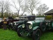 Ufford Classic Car Rally at the White Lion Inn