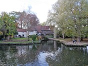 THE RIVER WENSUM,PART OF THE NORFOLK BROADS