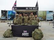 Army Recruitment Team.