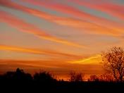 Skyline at sunrise. (photo challenge)
