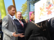 Prince Harry comes to Dagenham