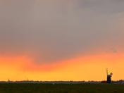 marshland sunrise