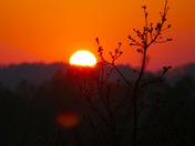 Sunset in Bungay
