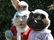Easter hunt Raveningham