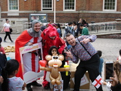 St Georges Day at Barking Town Hall
