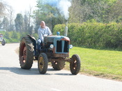 Easter Sunday Charity Tractor Road Run