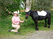 Easter Photographs with Polly the pony