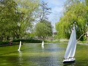 Woodbridge Model Yacht Pond