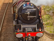 LMS Coronation Class 46233 Duchess of Sutherland hauling Great Britain XII