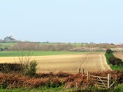 A view across from Weybourne Heath