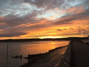 Sunset over Exmouth