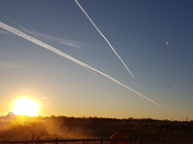 Sunrise over Harleston