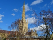 BEAUTIFUL NORWICH CATHEDRAL