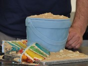 Bucket cake at Sidmouth Seafest