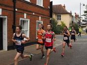 Woodbridge 10K run.