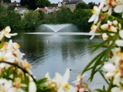 Fountain in Diss mere