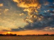 Sunrise in HDR.