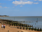 Lovely Bank Holiday weekend weather at Felixstowe