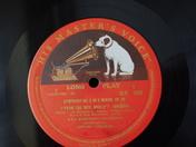 The red label HMV