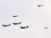 D day 75th anniversary fly past