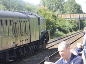 Steam at Worle Station