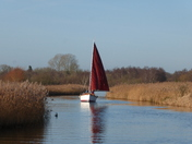 Capture Norfolk - Sailboat on the Broads