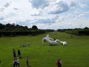 Houghton Hall Landscape with sculpture