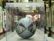 PANORAMIC SPHERE IN THE ARCADE