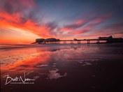Sunrise at Cromer pier