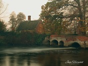 Lyng mill at dawn