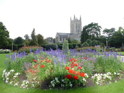 Abbey gardens. Photo challenge)Essence of Suffolk