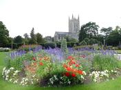 Abbey gardens. Photo challenge)Essence of Suffolk