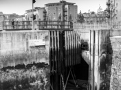 Portishead lock gates