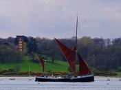 Orwell barge
