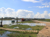 High tide at Thornham Harbour