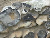 Stone work in Valentine park